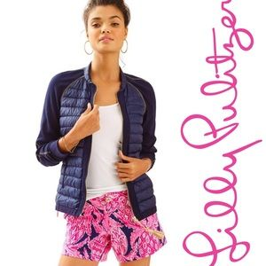 Lily Pulitzer Haley Jacket in Navy Blue